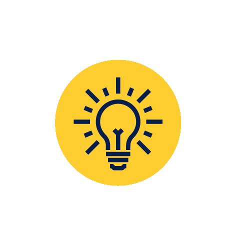 Idea rozwiązanie ikona